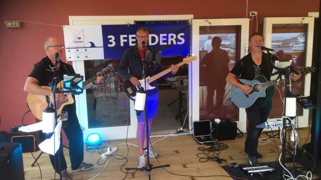 Livemusikk med 3Fenders i påsken er AVLYST