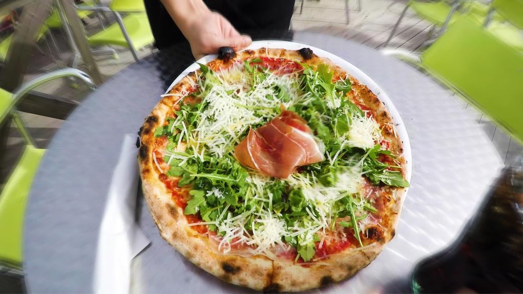 Pizza. Foto.